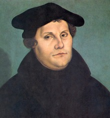 Martin Luther, from Wikipedia