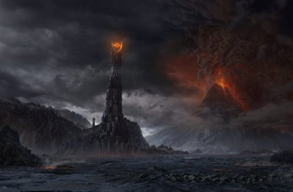 It's amazing how often our opponents are actually dark lords attempting to dominate all life in Middle Earth...